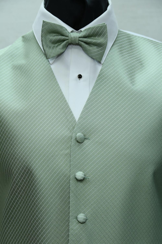 Green Vests & Ties - Phoenix Tux Rental