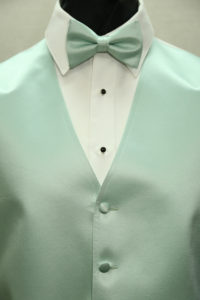 Simply Solid Mint bow