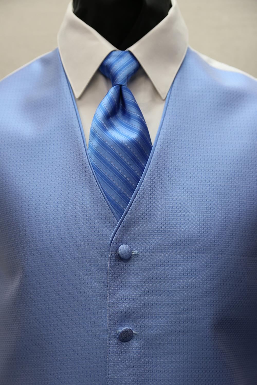 Blue Vests & Ties - Phoenix Tux Rental