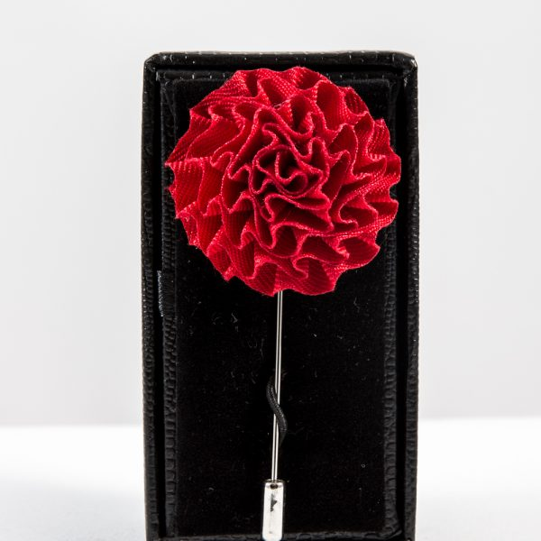 8045c215e01b2 Silk flower pin - Red or White
