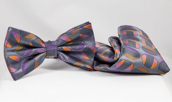abstract bow tie