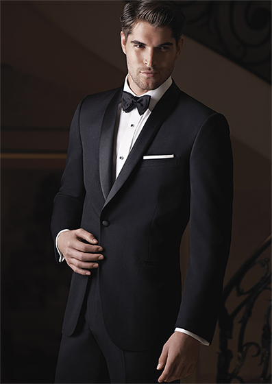 Ike Behar Black Chandler Phoenix Tuxedo Rental