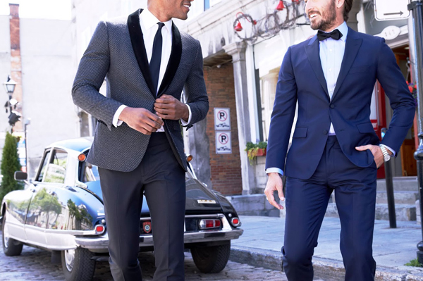 Cheap Silver Tuxedo Rental in Phoenix